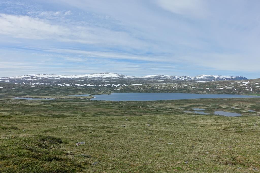 Blick vom Store Orkelsjøen