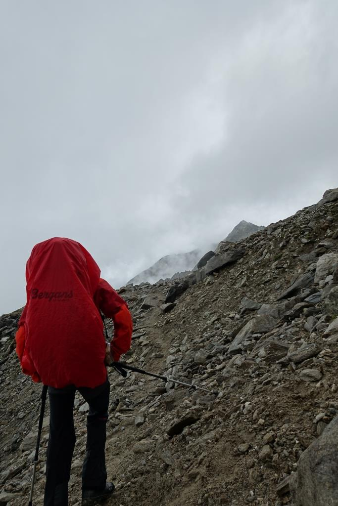 Blick Richtung Lenkjöchlhütte