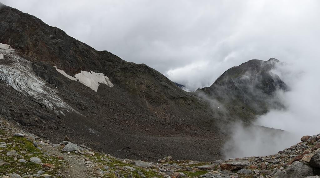 Bild mit Blick auf die Lenkjöchlhütte