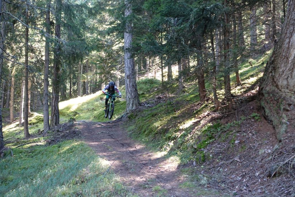 Sprung am Trail - Roatbrunn-Trail