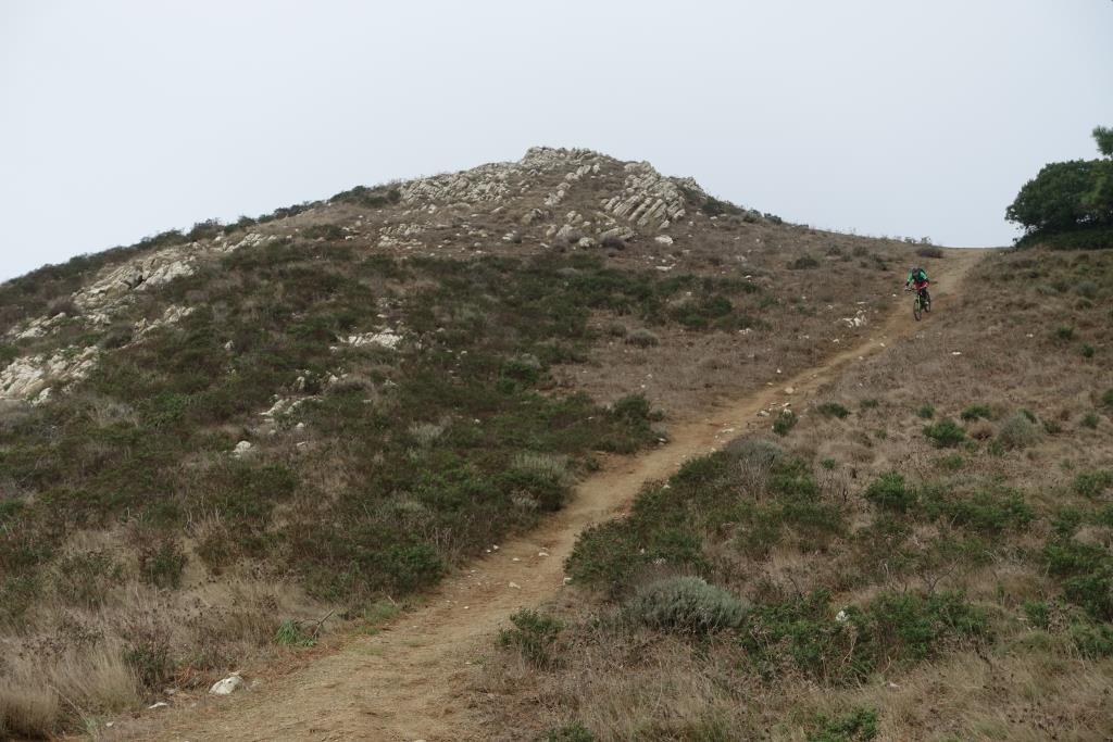 Cima del Monte Abfahrt
