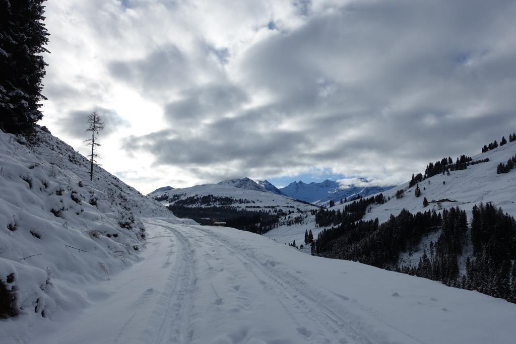 Winterlandschaft im Salzachtal