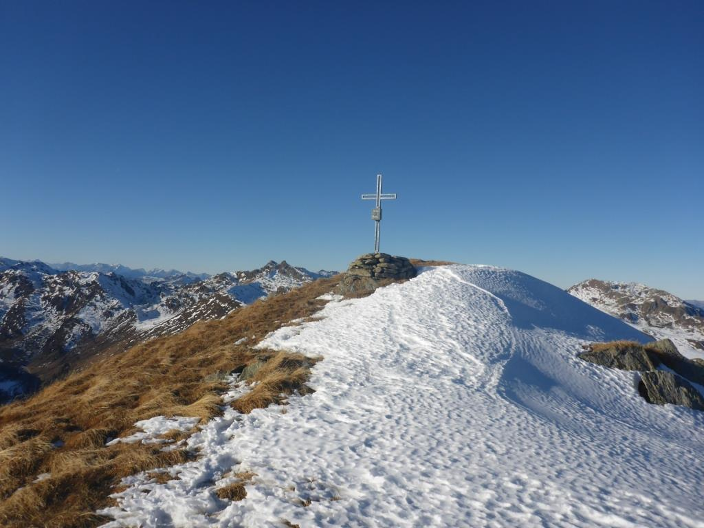 Ronachgeier Gipfel im Frühwinter