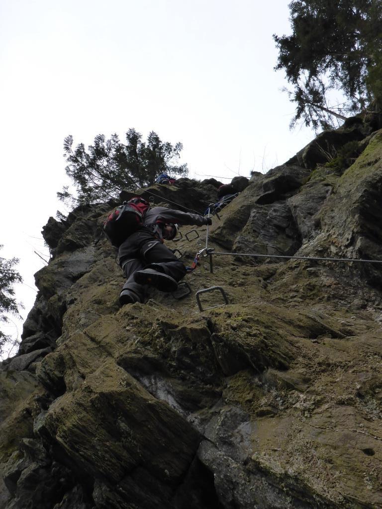 Klettersteig Huterlaner Aufstieg