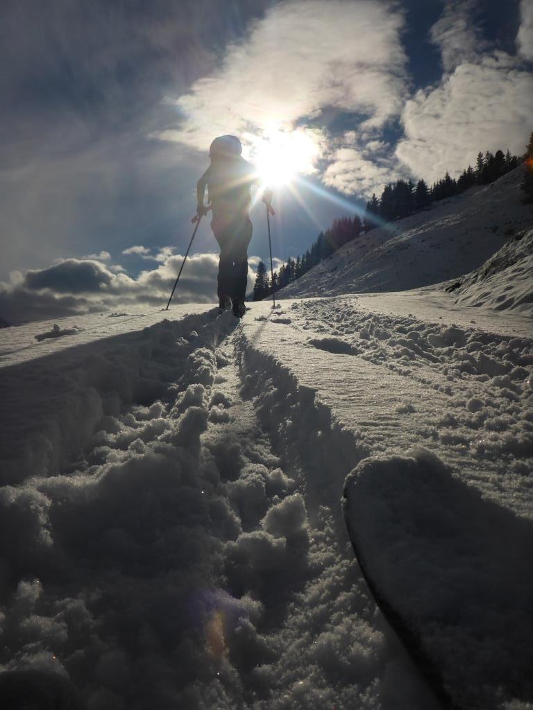 Winteranfang im Zillertal