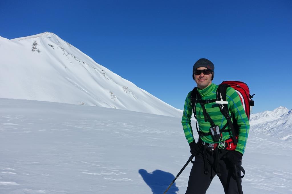 Bergans Langarm Merino im Skitoureneinsatz