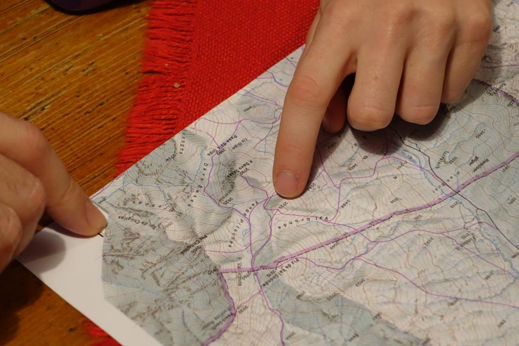 Tourenplanung mit DAV Karte