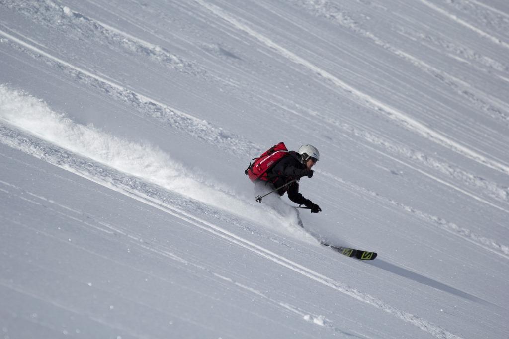Skifahren in Les Deux Alpes mit Fritschi Vipec Tourenbindung