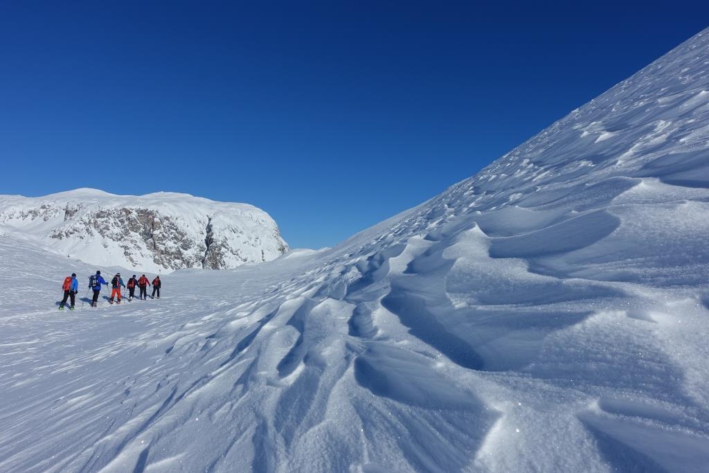 Skitouren auf der Sesvenna Hütte
