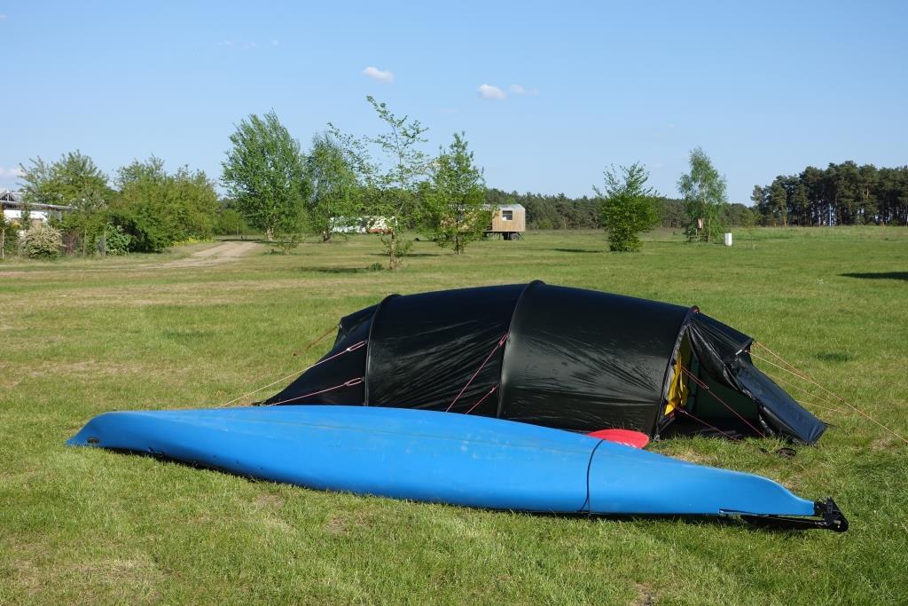 Zelt am Mössener See - ein Hilleberg Kaitum 2