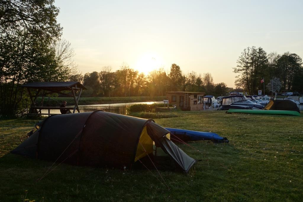 Campingplatz Wesenberg für Wasserwanderer