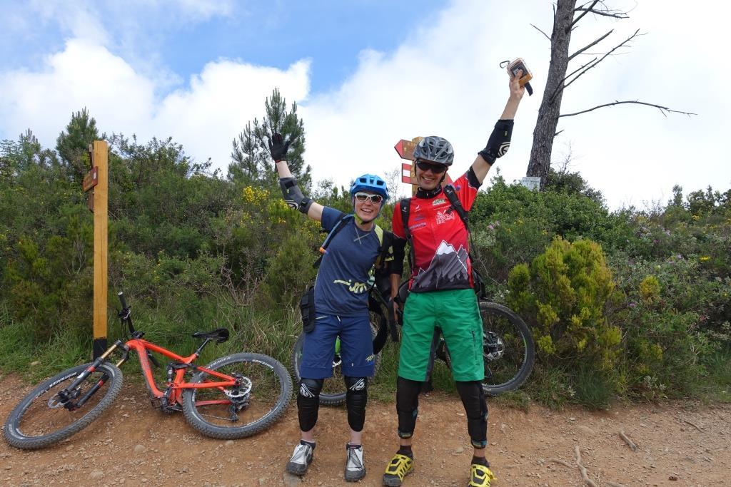 Varigotti Trail Einstieg