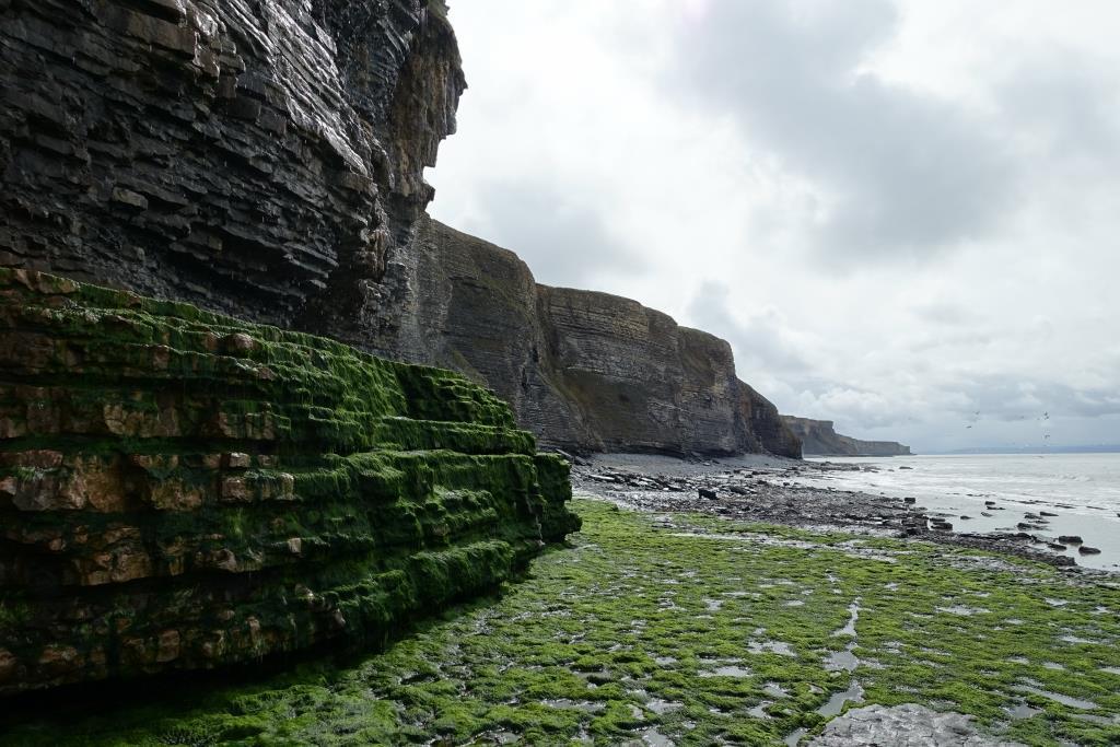 Wanderung an der Glenmorgan Heritage Coast