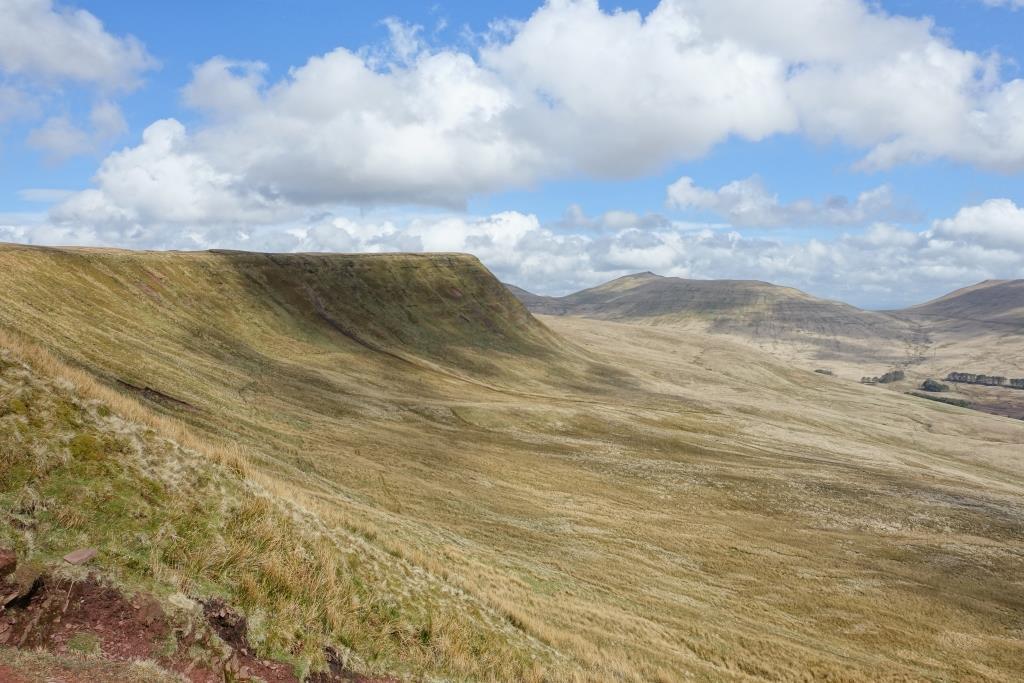Wanderung Bild Breacon Beacon Wales